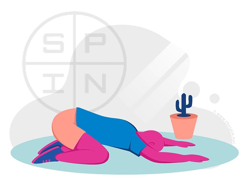 Yoga Childs Pose Exercise